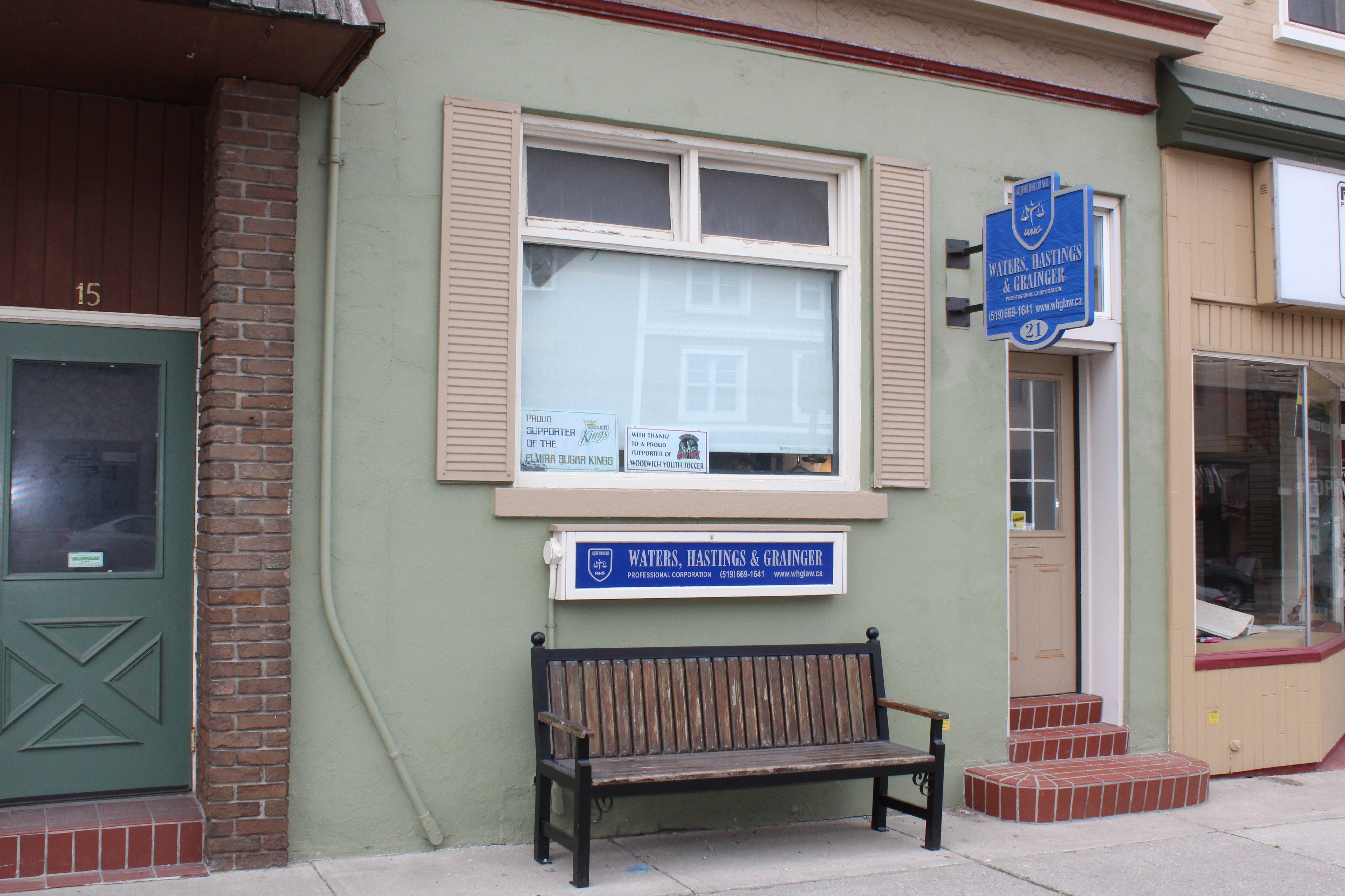 Front of WHG LAW Office